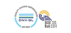 QUALITY SYSTEM CERTIFICATION DNV.GL ISO 9001 MGMT. SYS. RvA C024